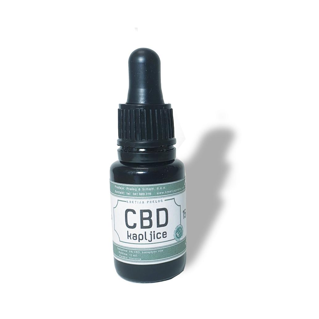 CBD kapljice (15ml)
